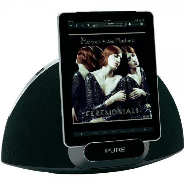 Pure Contour 200i Air AirPlay Lautsprechersystem mit Apple iPod/iPhone/iPad Dock