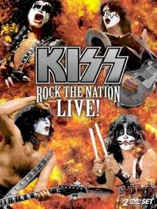 Kiss - Rock The Nation Live(2DVDs) für 3,88€ inkl. Versand @zavvi