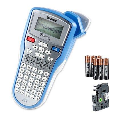 [druckerzubehoer.de] Brother P-touch H75S - Beschriftungsgerät + Batterie + Schriftband inkl. Vsk für 13,87 €