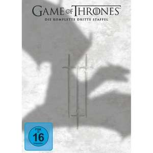 Game of thrones dvd Staffel 3 für 29,-Euro!