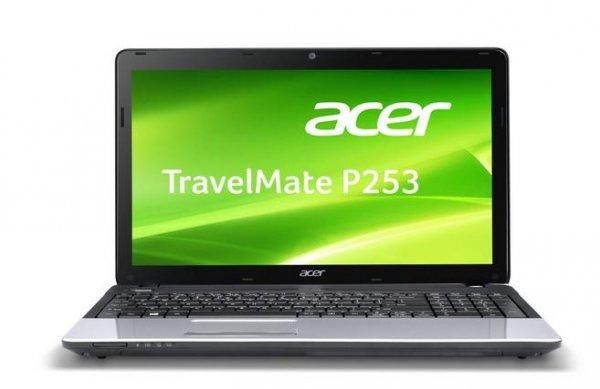 Acer TravelMate P253-E-20204G50Mnks 39,6 cm (15,6 Zoll non Glare) Notebook (Intel Pentium Prozessor 2020M, 2.40 GHz, 4GB RAM, 500GB HDD, Intel HD, DVD, Win 8) schwarz  für 337 Euro bei amazon