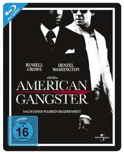 [Amazon WHD] American Gangster - Steelbook (100th Anniversary Edition) [Blu-ray] - Wie neu