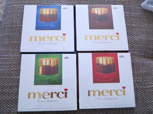 25 x 200g Merci Finest Selection Große Vielfalt mit 8 köstlichen 1,60€ pro 200g !