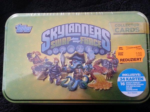 Skylanders Swap Force Tin Box Metall-Sammelbox / Lokal @Müller Stuttgart-Hedelf