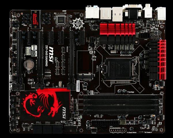 MSI Z87-G45 Gaming Mainboard für 96,85 € inkl. Versand!
