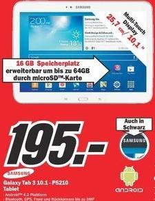 [LOKAL] Samsung Tab 3 10.1 für 195,-€ und weitere Top DealZ