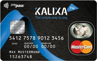 Kalixa Prepaid Kreditkarte für einmalig 4,95 Euro - keine Auslandsgebühr