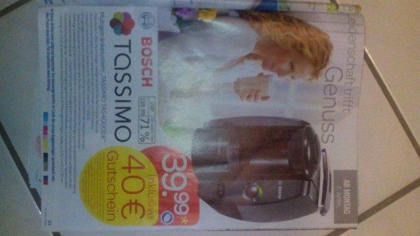 Bosch Tassimo 39,99€ mit 40€ Guthaben [Lidl - Bundesweit]