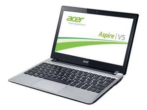 Amazon [WHD] Acer Aspire V5-131-10074G50ASS 29,5 cm (11,6 Zoll) Notebook (Intel Celeron 1007U, 4GB RAM, 500GB HDD, Intel HD, kein OS) silber