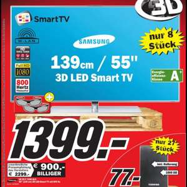 Samsung 55F7090 SLX (Media Markt Speyer)