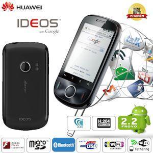 "Huawei IDEOS für 106€ - Android 2.2 Smartphone mit 2,8"" Touchscreen @iBOOD"