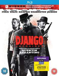 Django Unchained [Blu-ray + UV Copy] für ~8,46 € (DVD für ~6,04 €)