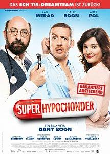 """[Hanau/Darmstadt/Viernheim/Rosenheim/BadGodesberg] 2 Tickets """"Der Superhypochonder"""" für Kinopolis + Cinedome"""
