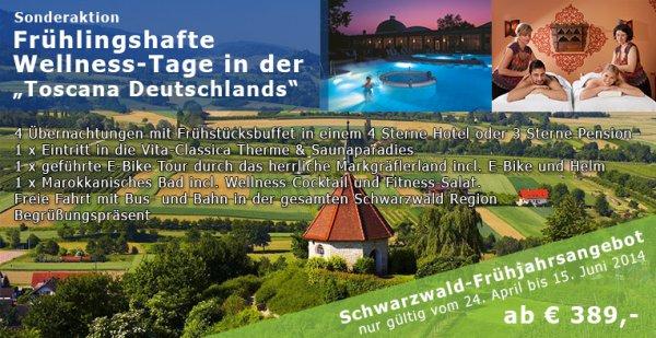 Wellnesstage im Schwarzwald