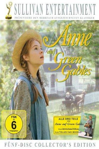Anne auf Green Gables, Teil 1-3 (Collector's Edition, 5 Discs)