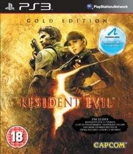 PS3: Resident Evil 5: Gold Edition (Playstation Move Compatible) ~14,50 EUR