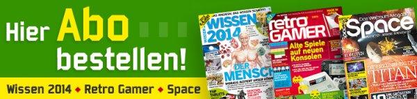 Retro Gamer, Wissen 2014,  Space Magazin   15% billiger