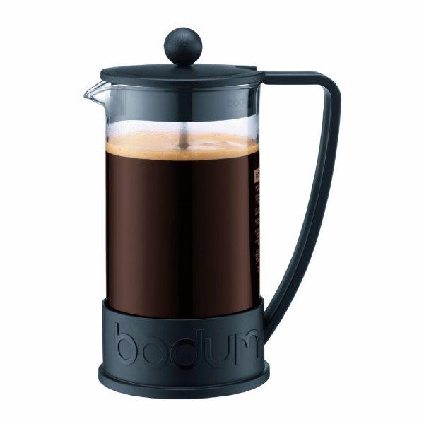 Bodum Brazil French Kaffeebereiter, schwarz, 1 Liter, für £7.99 or 16 Euro ink. Versand @ Amazon.co.uk