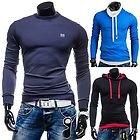 Herrenshirt Langarmshirt Sweatshirt Longsleeve Kapuzenpullover Sweat Hoodie nur 14,95 Euro  WOW • SALE • 6 Modelle • viele Farben • Top Angebote