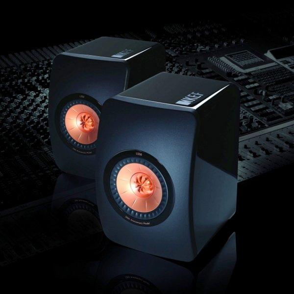KEF LS50 Monitor-Lautsprecher in schwarz @www.hificomponents.de für 369€ mit Gutschein