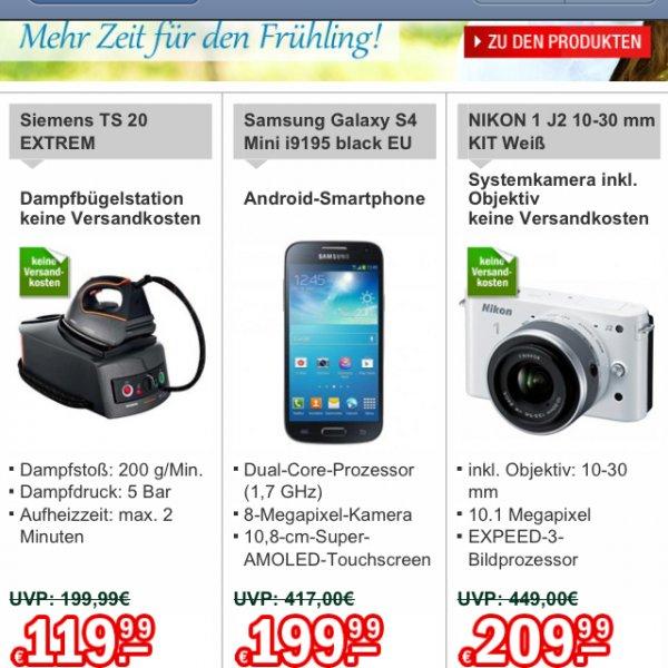 Samsung S4 mini & Nikon J2 Kit @ Redcoon