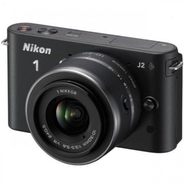 Nikon 1 J2 Systemkamera Kit inkl. Nikkor VR 10-30mm für 209,90€