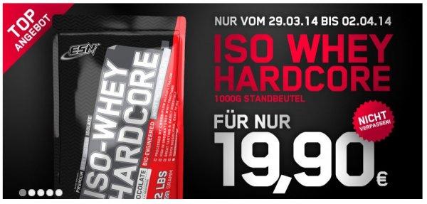 ESN Iso Whey Hardcore 17,91€/Kg + 4,50€ Vsk = 22,41€
