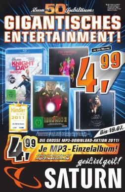 [LOKAL ?] Saturn Marl Blue Ray Knight&Day und Iron Man 2 für je 4,99 Der Pate - The Coppola Restoration  Blu-ray Komplettbox für 25€