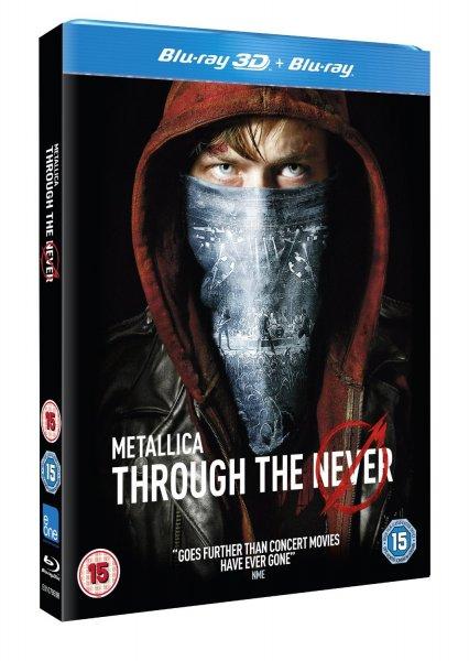 [amazon.uk] Metallica Through the Never [Blu-ray 3D + Blu-ray] inkl. Vsk für 13,84 €
