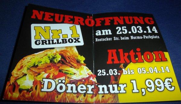 [Lokal] Neubrandenburg (West) Döner für 1,99 Euro