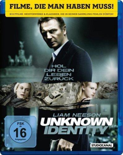 [Amazon WHD] Unknown Identity [Blu-ray] - Wie neu - 18 Stück (ggf. Porto)