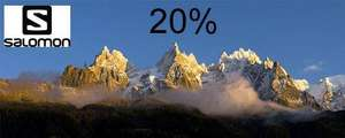 20% Rabatt auf Salomon bei Sport Buck auch auf reduzierte Ware