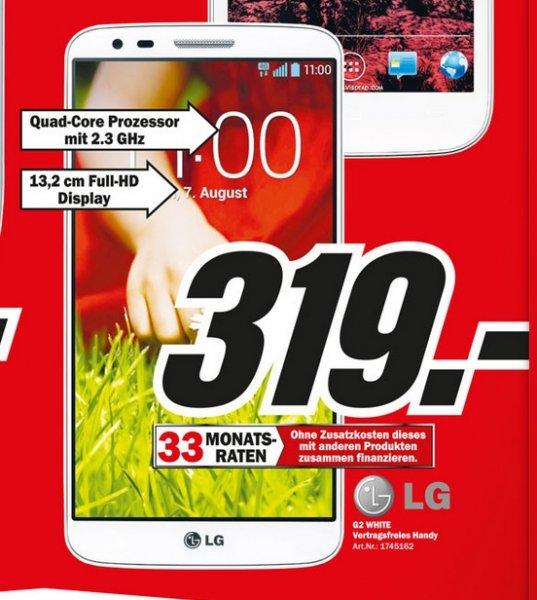 LG G2 16GB für 319€ Lokal [Mediamarkt Heppenheim Ludwigshafen Mannheim Neustadt Speyer Viernheim Wormst]
