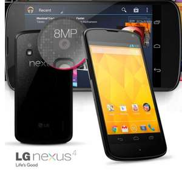 Nexus 4 (8GB) für 174,95€ bei iBOOD incl.Versand (refurbished)