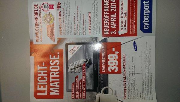 Berlin Cyberport Neueröffnung Bikini Haus: Samsung ATIV Book 9 Lite 905S3G K01