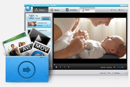 Wondershare DVD Creator - kostenlose Vollversion zum Download