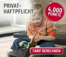 Privathaftpflicht mit bis zu 15 EUR Überschuss (1 Jahr MVLZ) @ Asstel (Gothaer)