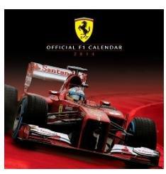 Ferrari F1 Kalender 2014 (30x30cm) für 1€ @Media Markt