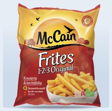 MC CAIN 1-2-3 Frites Original für 1,11€ bei Penny