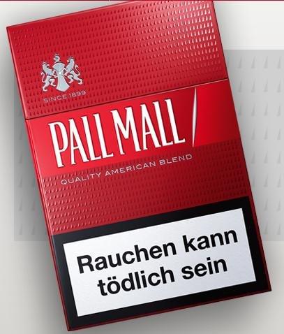 Kostenlose Pall Mall Packung Testen!