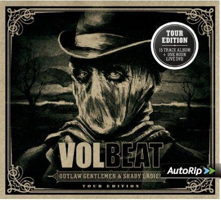 VOLBEAT - Outlaw Gentlemen & Shady Ladies (Limited Tour Edition) [CD+DVD] - 8,99 inkl. Versand @ Amazon.de