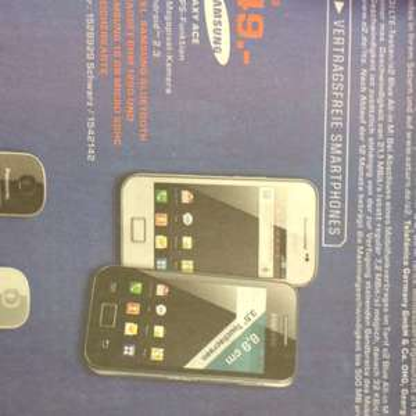 [Lokal] Samsung Galaxy Ace 49€ (Saturn Stuttgart)