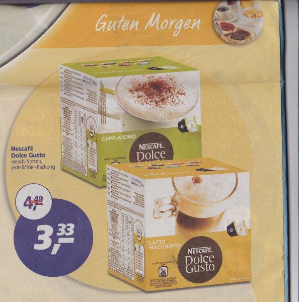 (Lokal AC) Real Nescafe Dolce Gusto versch. Sorten nur 3,33€