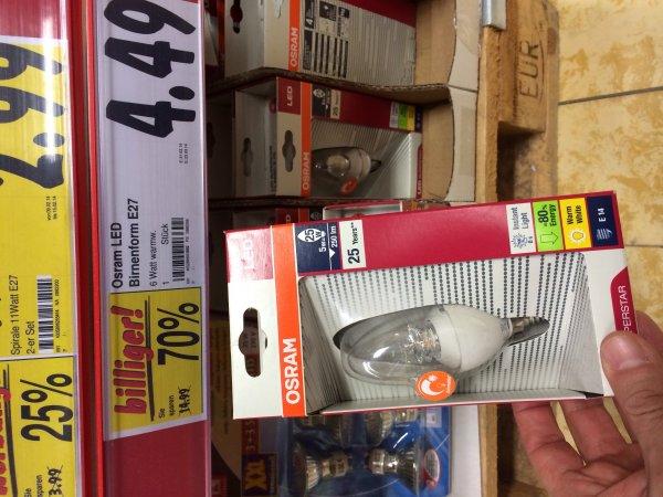 Osram LED Superstar classic B25 E27, dimmbar im kaufland Heilbronn