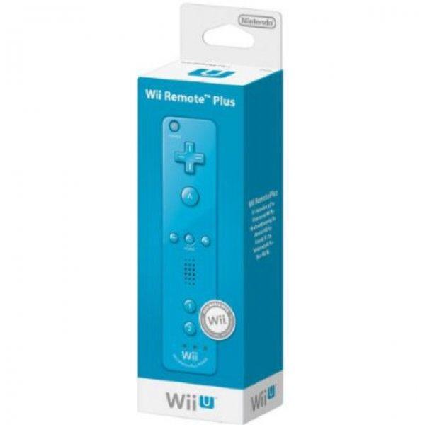 Nintendo Wii U - Wii Remote Plus Blau