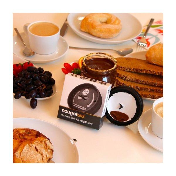 nougat-aid Folienschneider für Nutella-Gläser (Prime Kunden sparen 3€ Versand) ;)