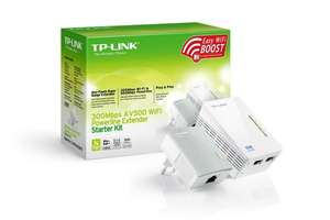 "TP-Link™ - 2er-Set WLAN-N Powerline-Netzwerkadapter ""TL-WPA4220KIT"" für €47,90 [@Amazon.de]"
