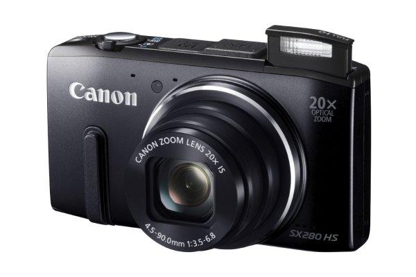 [Amazon UK] Canon PowerShot SX 280 HS in schwarz für 160€