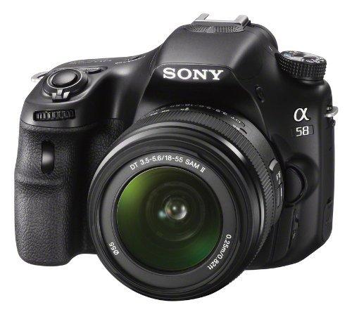 Sony SLT-A58K Kit 18-55mm mit Tasche und 16GB Sony SDHC Karte @ Media Markt