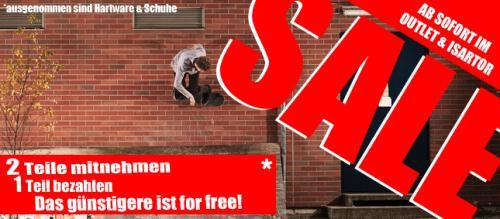 [Lokal/offline] Skatersachen von Goodstuff Kauf 1, nimm 2! und Wintersachen 50%
